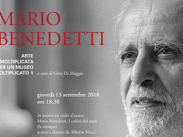 Mario Benedetti. Arte moltiplicata per un museo moltiplicato 1, Fondazione Mudima, Milano