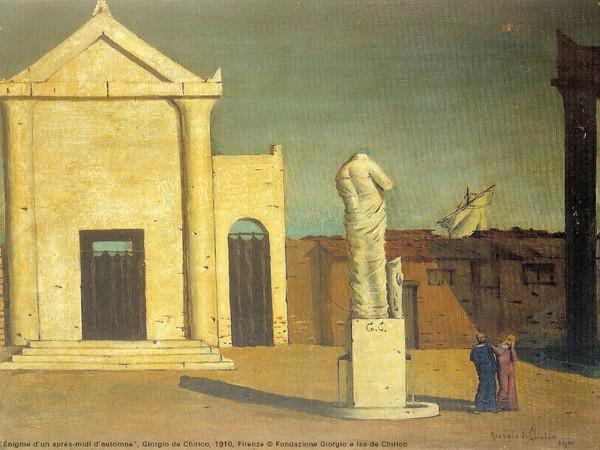 Giorgio De Chirico, L'Enigme d'un après-midi d'autumne, 1910