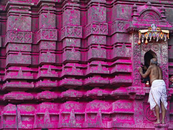 Ashish Gupta, Jyotiba Temple devotees visit to participate in the annual temple festival, Kolhapur, 2013