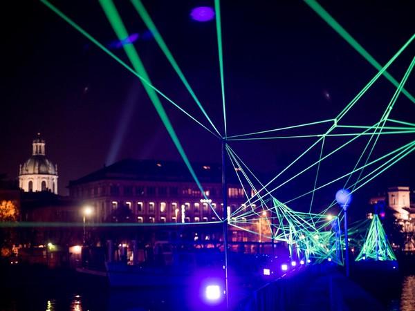 Rhizome, Viale Geno, Como. 8208 Lighting Design Festival 2016