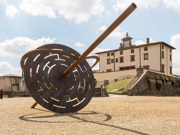 Eliseo Mattiacci, Le vie del cielo, 1995. Forte di Belvedere, Firenze