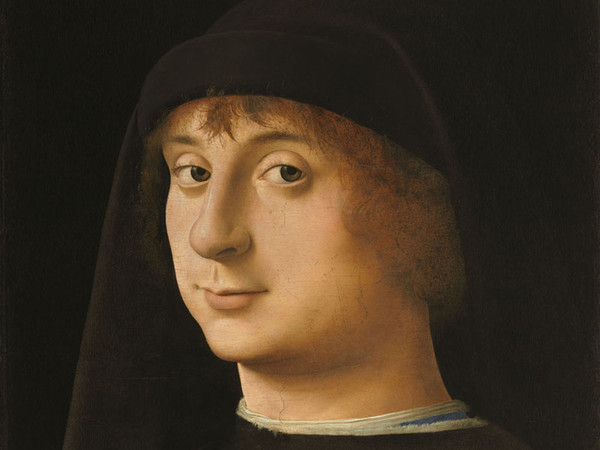Antonello da Messina, Ritratto di giovane, 1474, Olio su tavola di noce, 26.7 x 31.5 cm, Philadelphia Museum of Art, The John G. Johnson Collection, Filadelfia   Foto: Philadelphia Museum of Art, John G. Johnson Collection