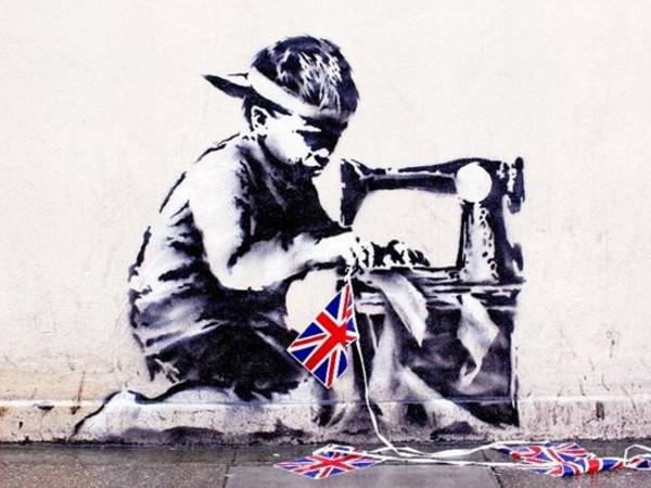 Banksy, Slave Labour, 2012