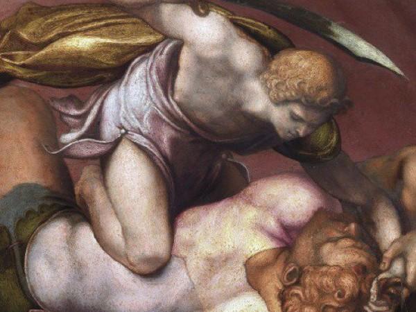 Daniele da Volterra e la prima pietra del Paragone, Galleria Nazionale d'Arte Antica in Palazzo Barberini, Roma