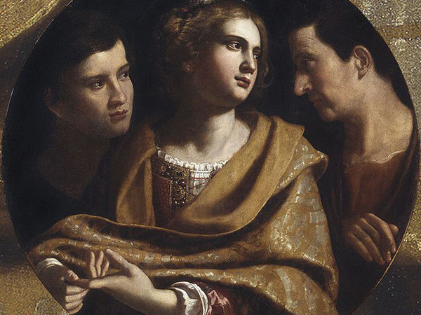 Ospiti della Spada - Un dipinto di Antiveduto della Grammatica dalla Pinacoteca di Brera