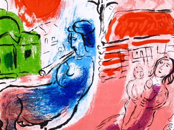 Marc Chagall, <em>Maternité Au Centaure </em>, 1957 | Courtesy of Elena Salamon Arte Moderna, Torino<strong></strong><br />