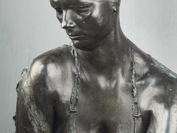 Aidyn Zeinalov, Sirena, 2015, bronzo, cm 150х90х130