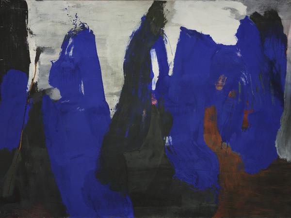 James Brooks, Quod, 1961, olio su tela, 122 x 170 cm.