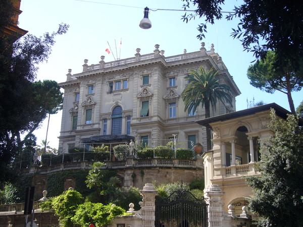 <span>Villino Maraini,</span>Istituto Svizzero di Roma