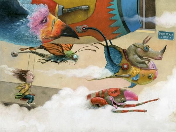 Illustrazione di Roger Olmos