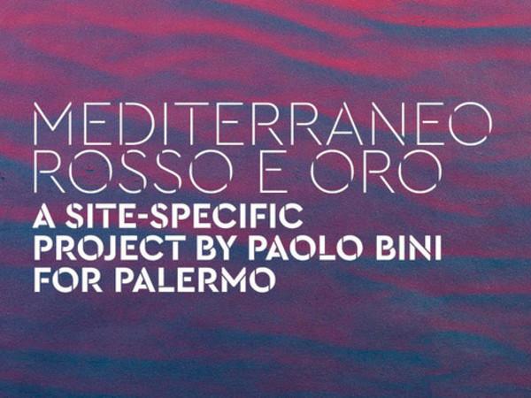 Paolo Bini. Mediterraneo rosso e oro, Cappella dell'Incoronazione, Palermo