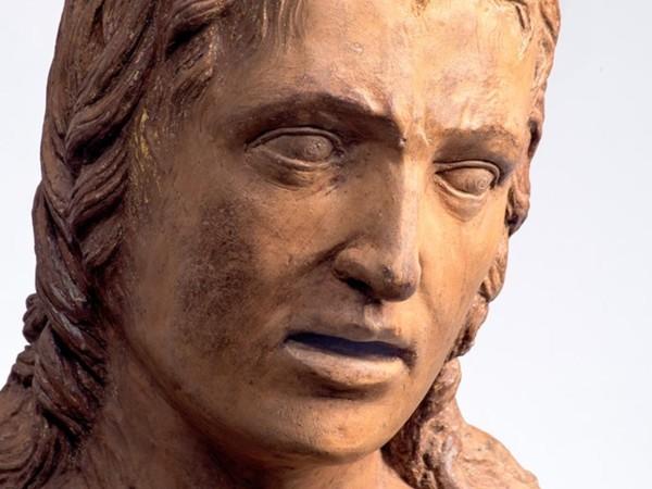 Andrea Riccio, San Sebastiano, particolare