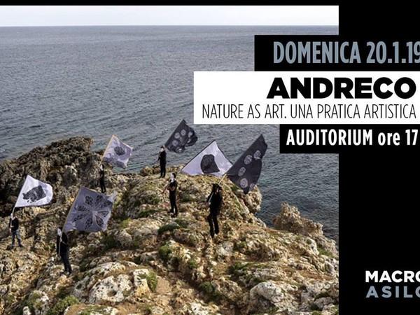 Andreco. Nature as art. Una pratica artistica, Macro Asilo, Roma