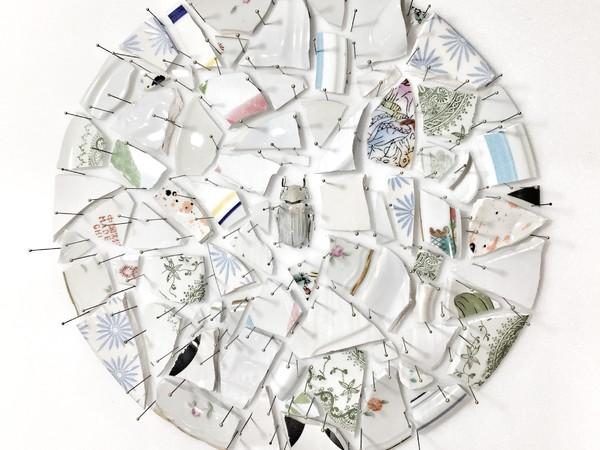 Alice Padovani, Fracture - white, Artrooms Fair Roma 2019