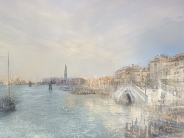Hiroyuki Masuyama, J.M.W. TURNER Looking along the Riva degli Schiavoni, from near the Rio dell'Arsenale, 1840, 2010. Ed. 2/7 led lightbox, 24,6 x 30,4 x 4 cm