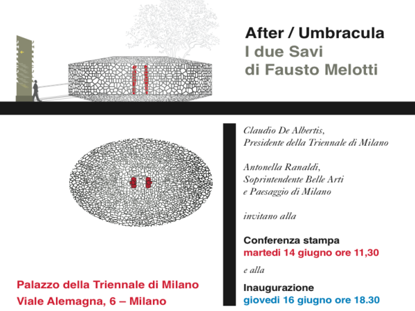 After / Umbracula i due Savi di Fausto Melotti, Triennale di Milano
