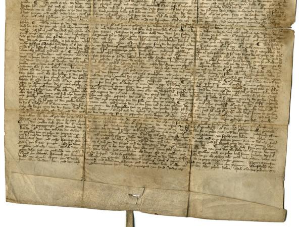 Ordinamento civico datato 11 giugno 1317