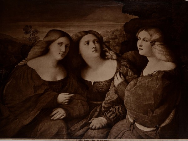 Negretti Iacopo (Palma il Vecchio), Les trois soeurs