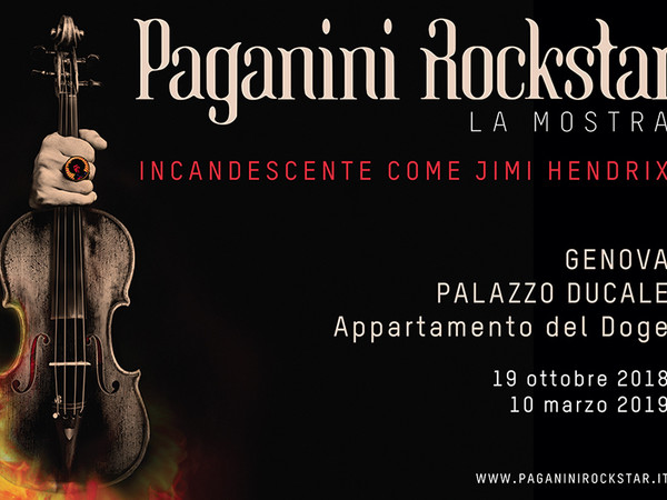 Paganini Rockstar, Palazzo Ducale, Genova