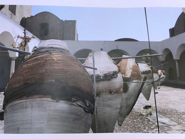 Antonio Ievolella, Progetto per l'installazione nel Chiostro piccolo della Certosa di San Giacomo a Capri<br />