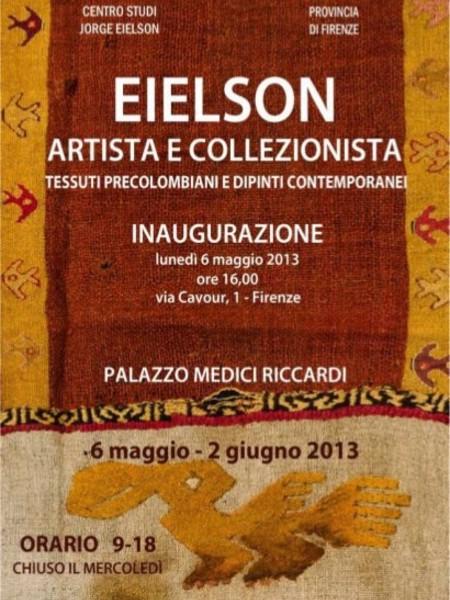 Eielson artista e collezionista, Palazzo Medici Riccardi, Firenze