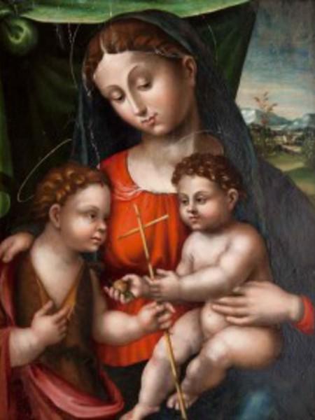Madonna con il Bambino e San Giovannino