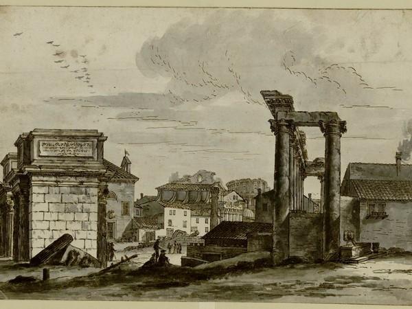 Le meraviglie di Roma, Biblioteca Reale, Torino