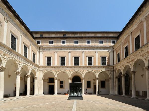 Galleria Nazionale delle Marche, Palazzo Ducale, Urbino, cortile d'onore
