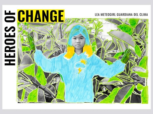 Heroes of Change - Lea Meteogirl guardiana del clima