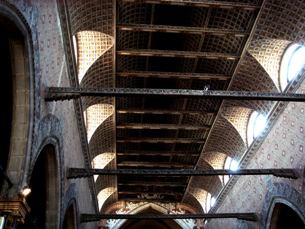 Soffitto a Carena di Nave