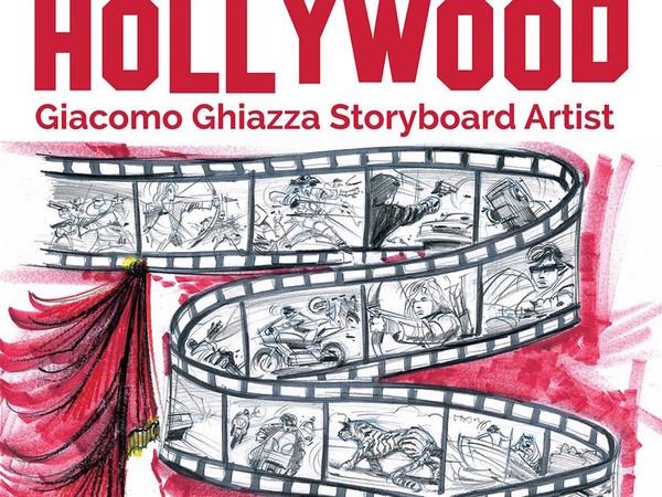 Una matita italiana a Hollywood. Giacomo Ghiazza Storyboard Artist