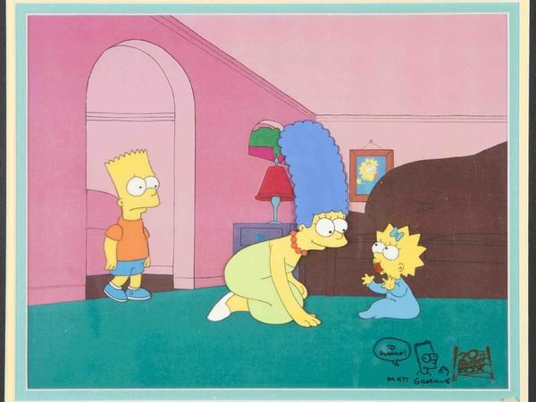 Matt Groening, The Simpons, Bart, Marge, Maggie