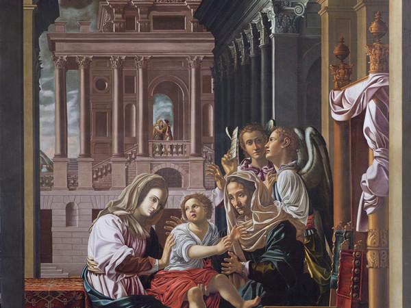 Francesco da Martina, S. Anna e Maria con bambino, 1633, cm. 265 x 376
