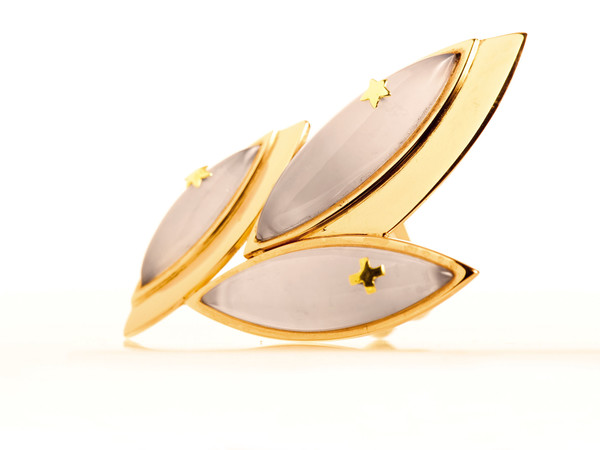 Giulio Manfredi, Giacomo Minore; anello; oro rosa, oro giallo, oro bianco