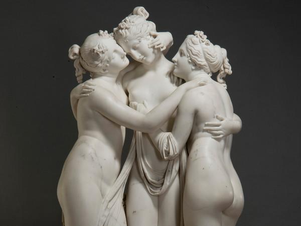 Antonio Canova, Le Tre Grazie, 1812 - 1816, Marmo, 103 x 64 x 182 cm   Foto: © Leonard Kheifets, San Pietroburgo, Museo Statale Ermitage, 2019