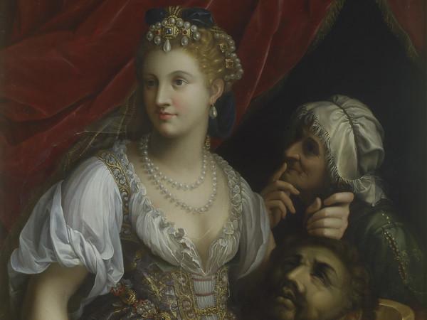 Fede Galizia, <em>Giuditta con la testa di Oloferne</em>, 1601, Olio su tela, 123 x 92 cm. Roma, Galleria Borghese, Ministero per i Beni e le Attività culturali