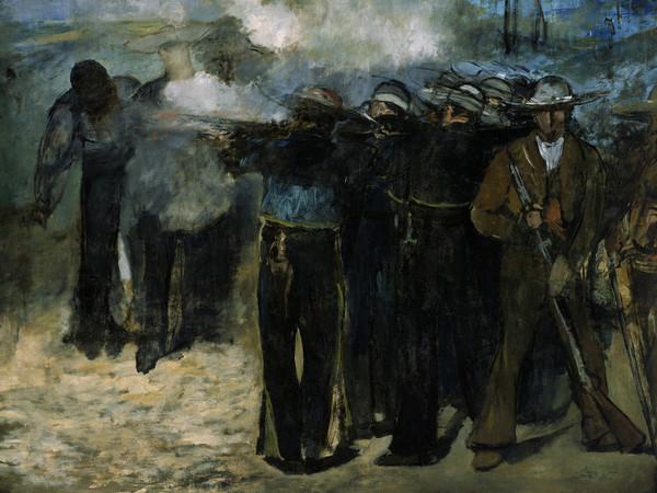 &Eacute;douard Manet, <em>L&rsquo;esecuzione dell&rsquo;imperatore Massimiliano</em>, 1867-68, Olio su tela, 284 x 193 cm