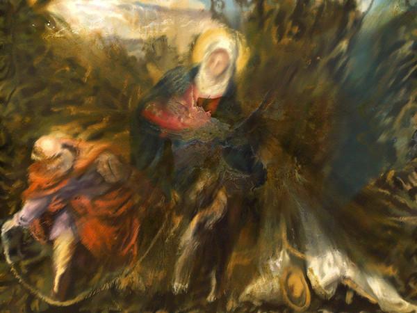 Jorge R. Pombo,<em> Fuga in Egitto</em> | Courtesy of The Artist & Scuola Grande di San Rocco