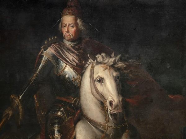 Giovanni Carboncino, <em>Ritratto equestre del Doge Francesco Morosini</em>, 1690 circa, Olio su tela, Venezia, Museo Correr, Cl. I n. 1388 | Courtesy of Museo Correr<br />