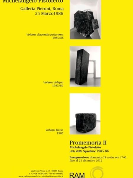 Michelangelo Pistoletto. Arte dello Squallore, 1985-1986