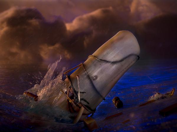Arturo Delle Donne, Moby Dick, cm 70x100. Lambda su di-bond 1/3