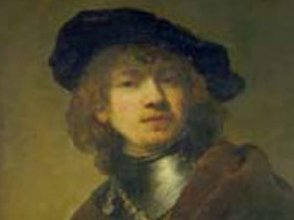 Un autoritratto di Rembrandt Harmenszoon van Rijn