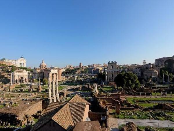 Veduta del Foro Romano dal Palatino, Roma