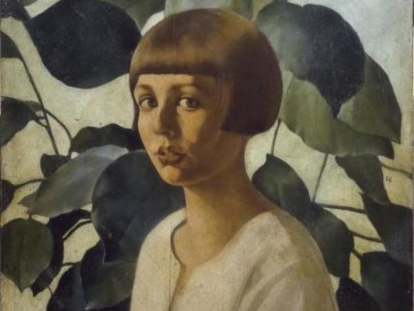Felice Casorati, Studio per ritratto di Renato Gualino, 1922-23. Olio su tavola. Collezione privata, Torino. Foto Giuseppe Dell'Aquila