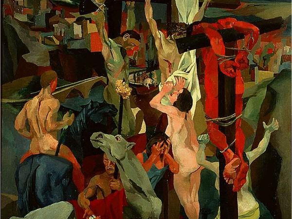 Renato Guttuso - La crocifissione