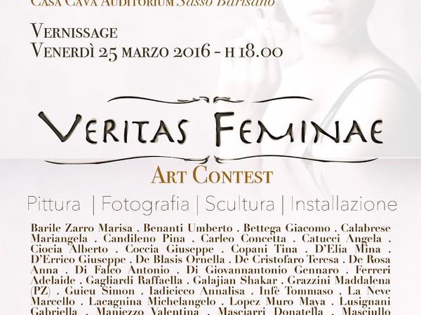 Veritas Feminae | Matera Art Contest 