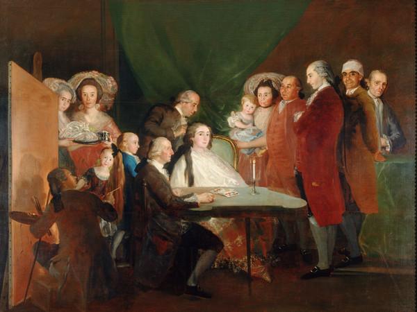 Francisco de Goya y Lucientes, La famiglia dell'infante don Luìs, 1783-1784, Olio su tela   Courtesy of Fondazione Magnani-Rocca 2020