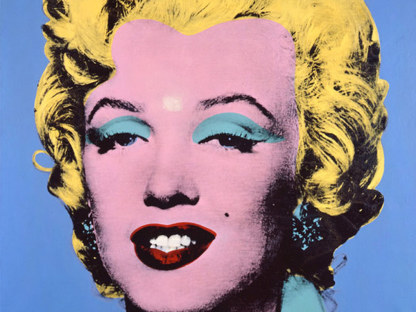 Andy Warhol, Shot Light Blue Marilyn, 1964. Courtesy The Brant Foundation, Greenwich, CT, USA. © The Andy Warhol Foundation for the Visual Arts Inc. by SIAE 2013