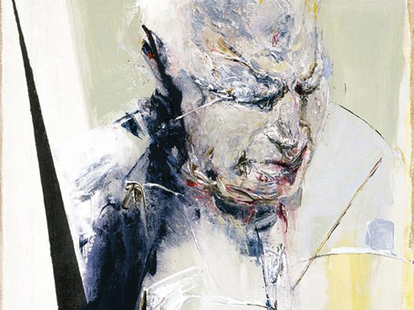 Ennio Calabria, Umani pensieri, acrilico, 80x60cm, 2004