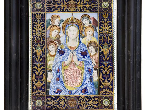 Giuseppe Magni, Targa con la Madonna di Maremma